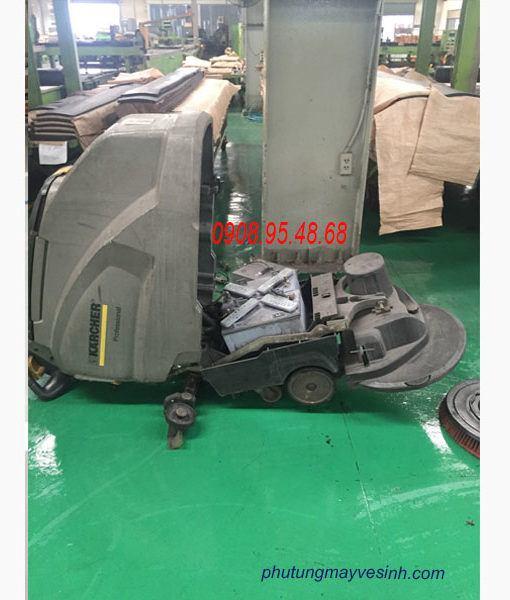 Sửa máy chà sàn liên hợp Karcher